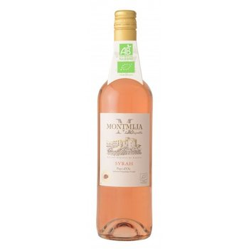 Montmija Maandwijn Syrah BIO rosé