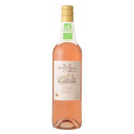 Montmija Biologische Syrah rosé - Wijn van de maand