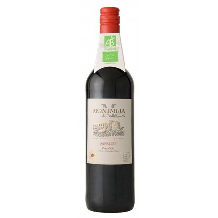 Montmija Biologische Merlot - Wijn van de maand