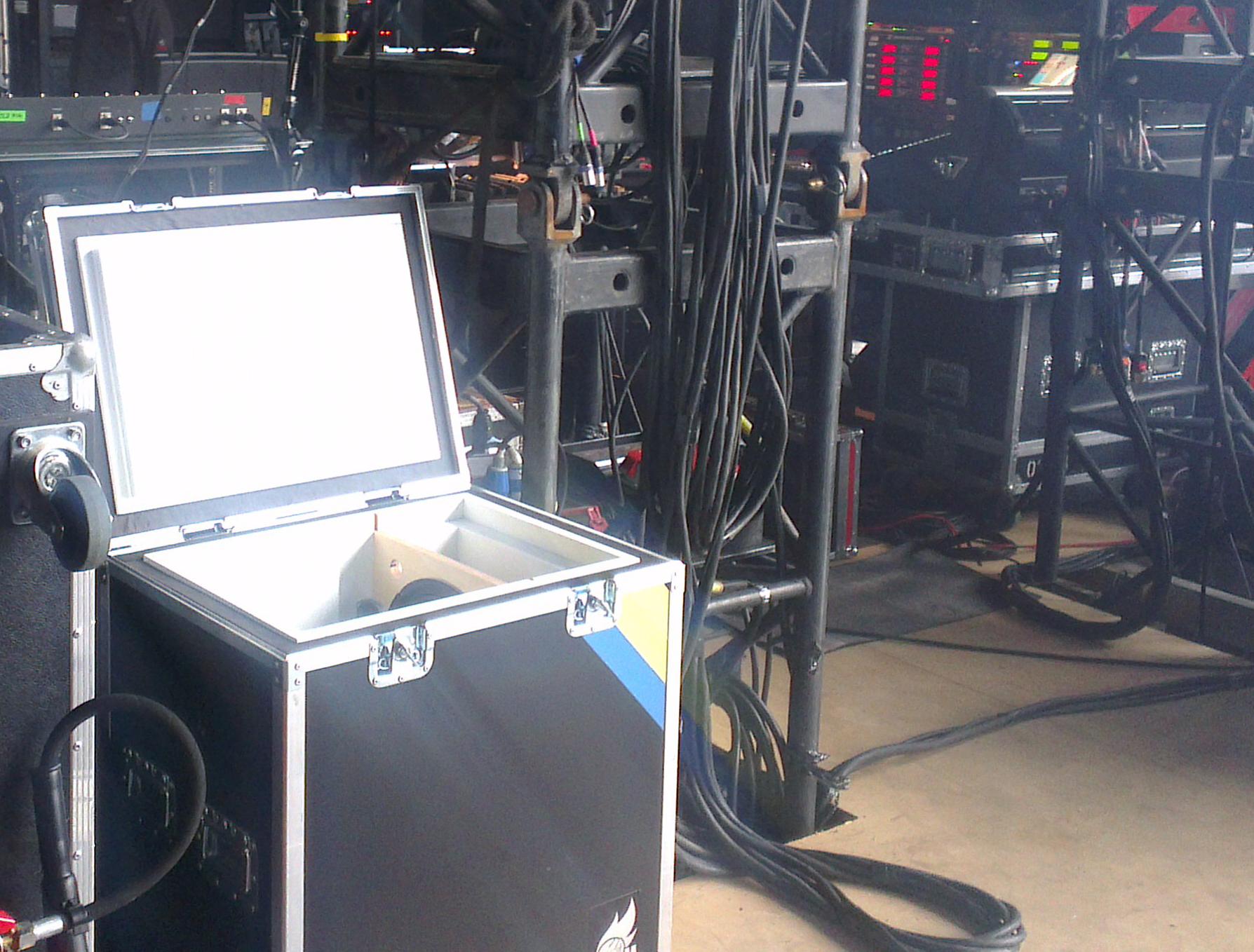 Box of Doom live gear Rammstein Fortarock