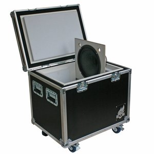 Box of Doom Isolation Cabinet standard, fitted with goosenecks - Celestion V30