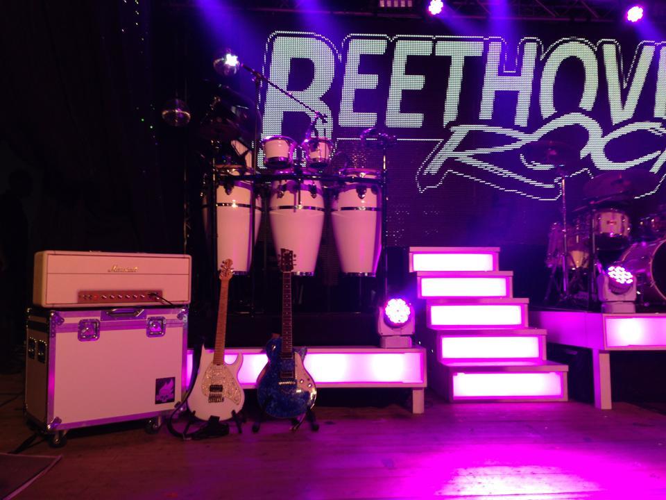 Beethoven live setup