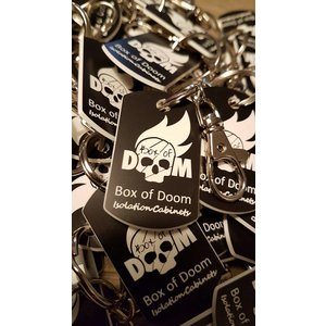 Box of Doom Key ring