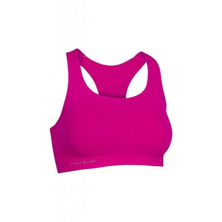 Pure Lime Ladies Seamless Bra Top