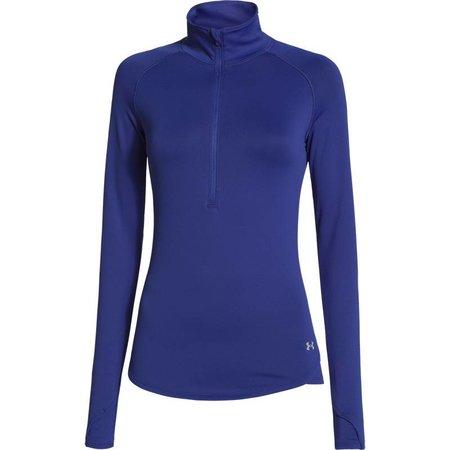 Under Armour Ladies running shirt Qualifier 1/2 Zip