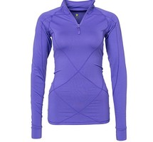 Pure Lime Ladies Running shirt long sleeve