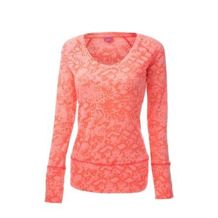 Venice Beach Dames shirt lange mouwen Aurum roze