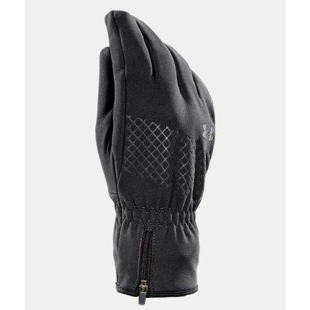 Under Armour Dames hardloophandschoenen Touchscreen Storm ColdGear® Infrarood Stealth Glove