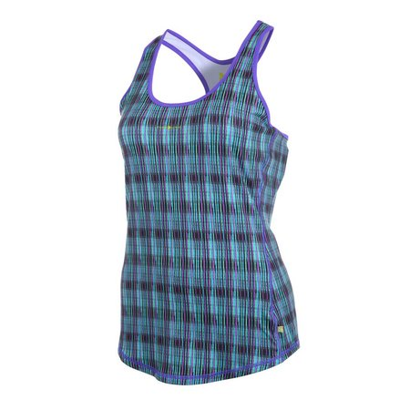 Pure Lime Dames tank top Spray Stripe