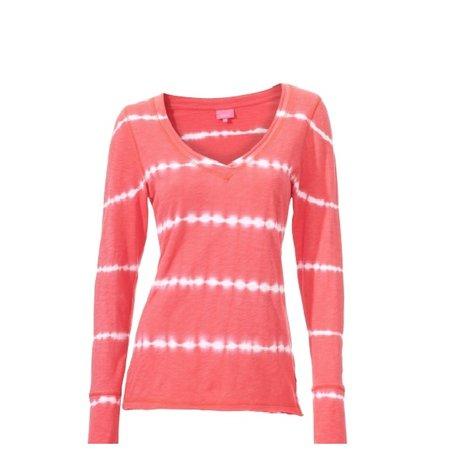 Venice Beach Dames shirt Simon Longsleeve rood
