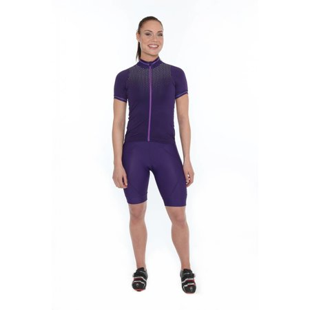 Craft Women's Cycling Jersey Women Jersey Purple Glow