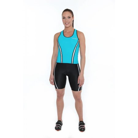 Zero RH+ Ladies Cycling Shirt ladies Revo W Top Blue / Turquoise -