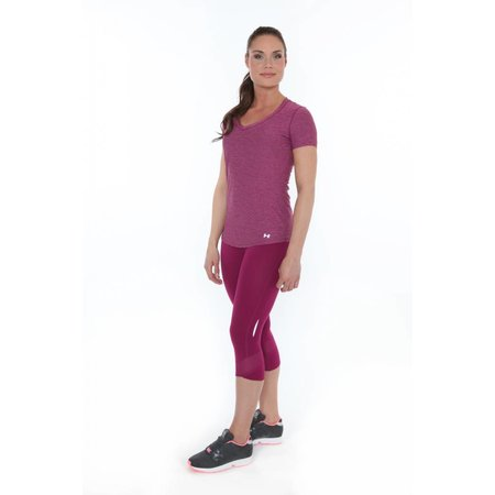 Under Armour Dames Hardlloopbroek Fly By Compression Capri