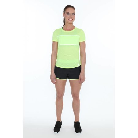 Under Armour Dames korte hardloopbroek Perfect Pace Short neon