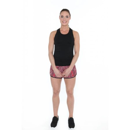 Under Armour Dames korte hardloopbroek Printed Perfect Pace Short