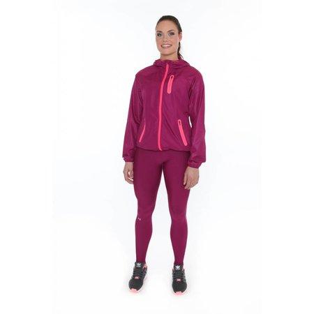 Under Armour Ladies running jacket HeatGear Qualifier Woven Jacket Eggplant