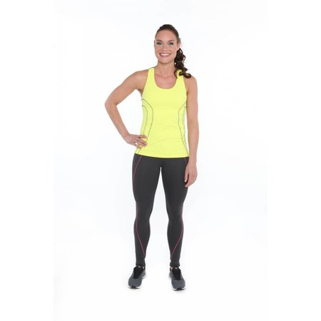 Venice Beach Ladies Tank Top Thea yellow