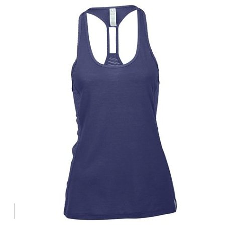Under Armour Dames tank top Fly-By Stretch Mesh Tank blauw