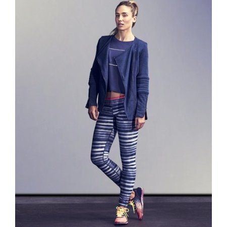 Under Armour Dames Hardlloopbroek Studio Printed Legging blauw