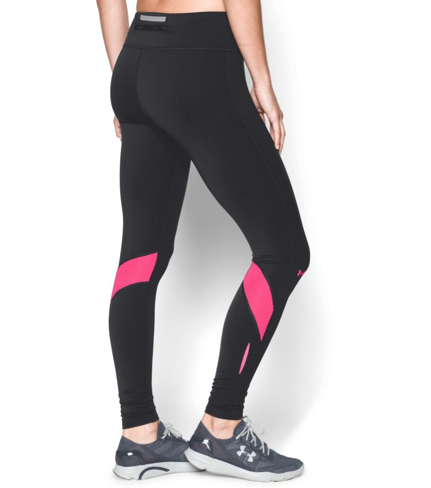 ... Under Armour Ladies Hardlloopbroek Fly Bly Compression tights pink ... 6d34e350b