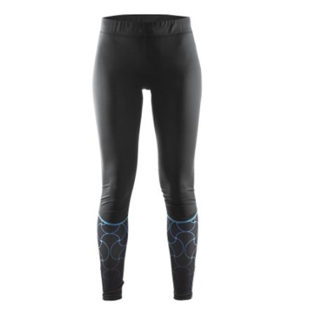 Craft Ladies running shorts black / blue