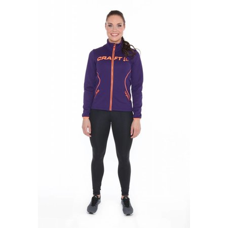 Craft Dames hoody Craft Logo full zip jacket