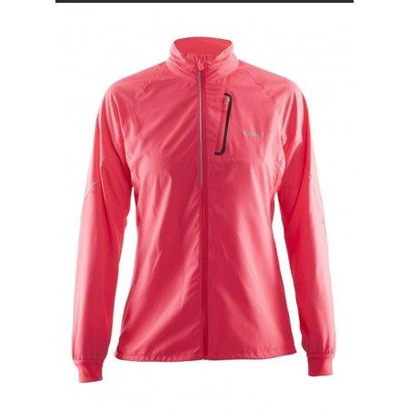 Craft Ladies running jacket Craft Devotion pink