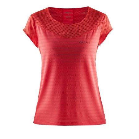Craft Dames Hardloopshirt Pure Cool Tee WMN Oranje