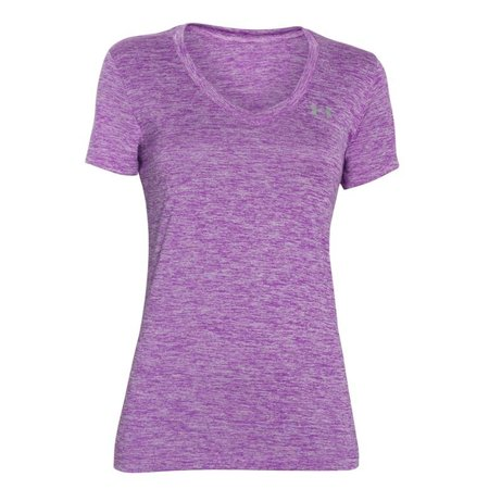 Under Armour Women's Running Shirt Tech Twist - Purple