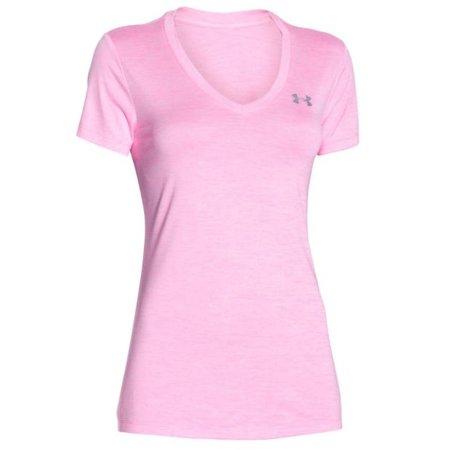Under Armour Women's Running Shirt Tech Twist pink