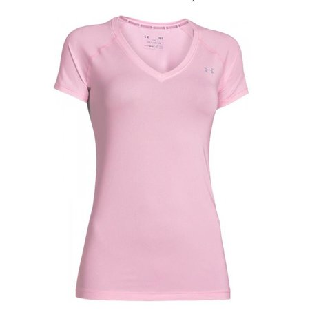 Under Armour Ladies Tank Top Fly-By Under Armour HeatGear® Armour - light pink