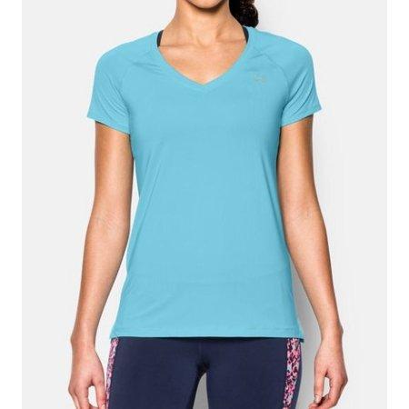 Under Armour Ladies short sleeved shirt Under Armour HeatGear® Armour - blue