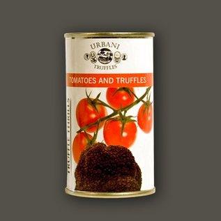 Tomaat met zwarte truffel
