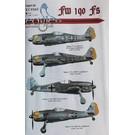 Eagle Cals Fw 190 F8 EC#165 1:32