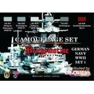 Lifecolor German Navy WWII  Set 1   Kriegsmarine   Camouflage Set   CS09