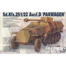 AFV Club Sd.Kfz 251/22 AUSF D PAK40 35083 1:35