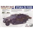 AFV Club Sd.Kfz.251/1 Ausf. C Stuka zu Fuss 35091 1:35