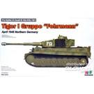 "Rye Field Model Pz.Kpfw.VI Ausf.E Sd.Kfz.181 Tiger I Gruppe ""Fehrmann"" RM-5005 1:35"