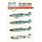 Eagle Cals Messerschmitt Bf 109 G-6 Erich Hartmann EC#36 1:48