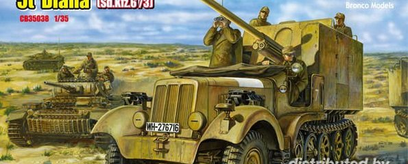 Bronco Sd.Kfz 6(5t) Diana CB350 1:35