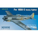 Eduard Weekend Edition Fw 190A-5 heavy fighter 7436 1:72