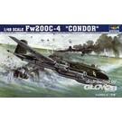 Trumpeter Flugzeugmodelle 1:48 Fw 200C-4 Condor 02814 1:48