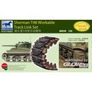Bronco Models Sherman T48 Workable Track Link Set AB3538 1:35