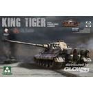 Takom King Tiger Henschel Turret w. Zimmerit TAK-2047 1:35