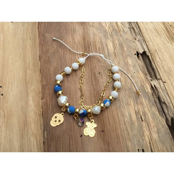 Colombianas - colorful handmade bracelets PEARL