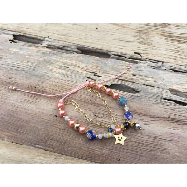 Colombianas - colorful handmade bracelets STAR