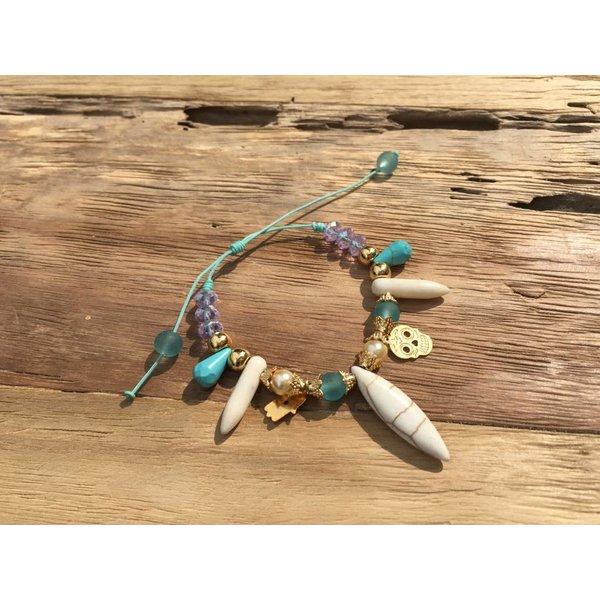 Colombianas - colorful handmade bracelets NATURE