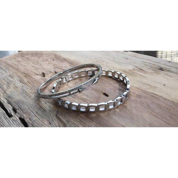 Twotone bracelets