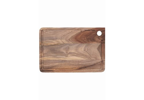 Nicolas Vahé Snijplank hout - 22x32xH1,5 cm