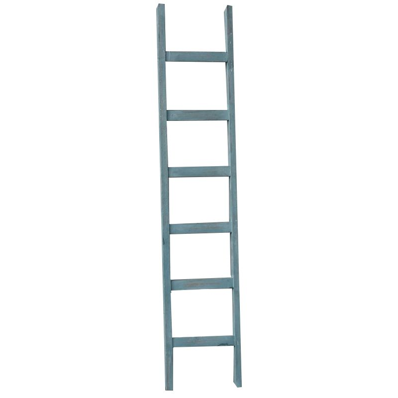 Houss Living Decoratie ladder blauw 160 cm